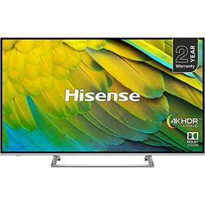 Hisense H55B7500UK UHD HDR Smart 4K TV with Freeview Play £329 @ Amazon