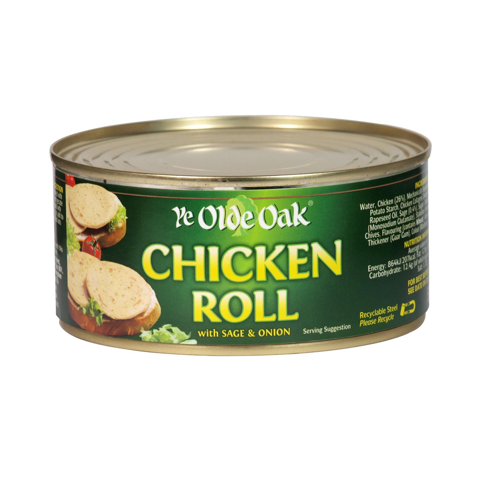 Ye olde oak chicken roll 29p at FarmFoods Little hulton Manchester