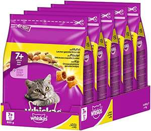 whiskas Cat Food Dry Adult Cat Food 5x 800grams £9.95 Amazon Prime / £14.44 Non Prime