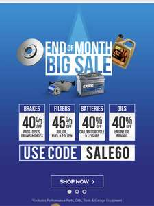 Eurocarparts end of month sale