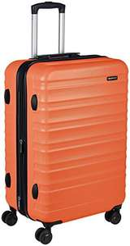 AmazonBasics Hardside Luggage Suitcase - 68cm, Burnt Orange £31.49 @ Amazon