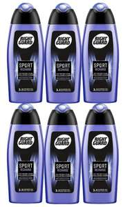(Pack of 6) Right Guard 3-in-1 Sport Recharge Shower Gel, 250 ml - £6 (Prime) / £10.49 (Non Prime) @ Amazon