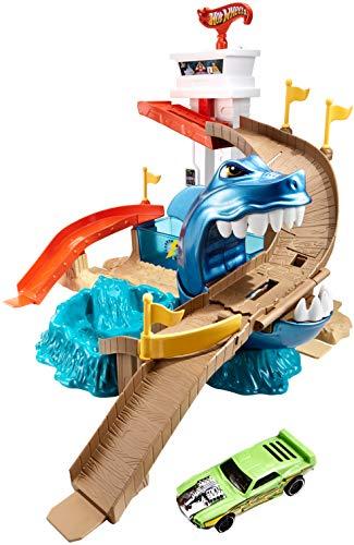 Hot Wheels BGK04 Track Eater Shark Toy Car, 0 £10 (Prime) £14.49 (Non Prime) @ Amazon