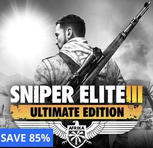 Sniper Elite 3 ULTIMATE EDITION (PS4) £4.49 @ PlayStation store