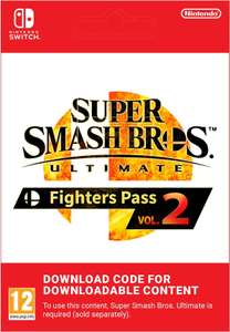 Super Smash Bros. Ultimate: Fighters Pass Vol. 2 Nontendo Switch £19.85 @ Shop To