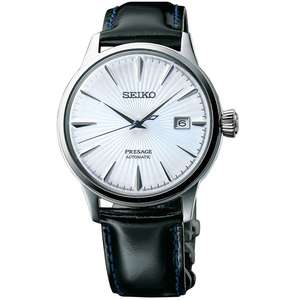 Seiko Presage Cocktail Automatic Blue Dial SRPB43J1 £279.65 with code @ Watchto