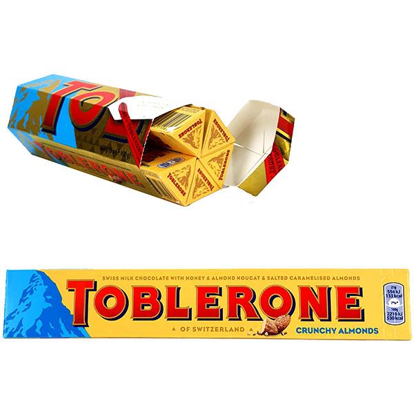 1 x Toblerone Rare Crunchy Almonds Milk Chocolate 600g Gift Box (Total 6 x 100g Bars) £7 at Yankee Bundles