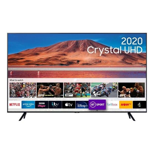 "SAMSUNG UE50TU7000KXXU 50"" Smart 4K Ultra HD HDR LED TV - £379 delivered @ Currys PC World"
