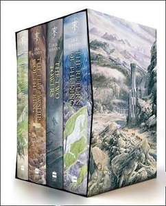 The Hobbit & The Lord of the Rings Hardcover Illustrated Boxed Set (June 2020) £66.78 delivered @ A Great Read