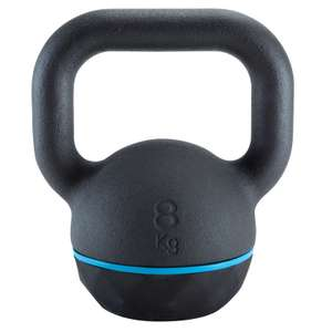 Domyos Kettlebell 8 KG £14.99 @ Decathlon - free Click and Collect / £3.99 delivery