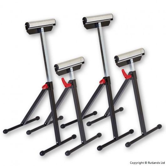 Workshop Roller Stands - 4 for £49.95 + £6.95 delivery at Rutlands