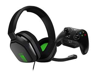 ASTRO Gaming A10 Wired Gaming Headset with Controller Mounted MixAmp M60 for Xbox One - Grey/Green £49.99 delivered at Amazon