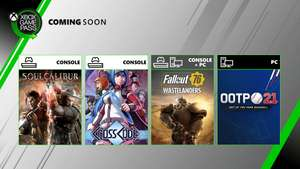 [Xbox One/PC] Fallout 76, Cross Code and Out of the Park 21 coming to Xbox Game Pass