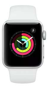 Apple Watch S3 8GB GPS 38mm Smart Watch - Aluminium/White Sport Band Refurbished £149.99 @ Argos / Ebay
