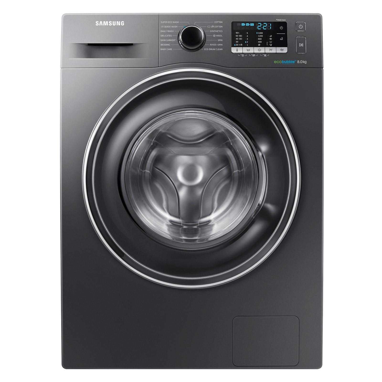 Samsung WW80J5555EX ECO BUBBLE Washing Machine in Graphite 1400rpm 8kg A+++ £349 @ Sonic Direct