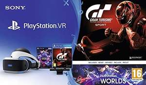 PlayStation VR inc Headset + Camera + GT Sport + VR Worlds £165.65 Like New [Damaged Packaging] @ Amazon Warehouse France (£159.75 fee free)