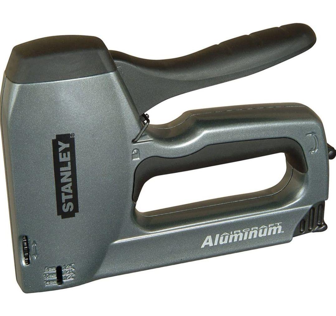 Stanley STA0TR250 Heavy Duty TR250 Staple Gun/Brad Nailer - £14.89 (Prime)/£19.38 (non Prime) @ Amazon