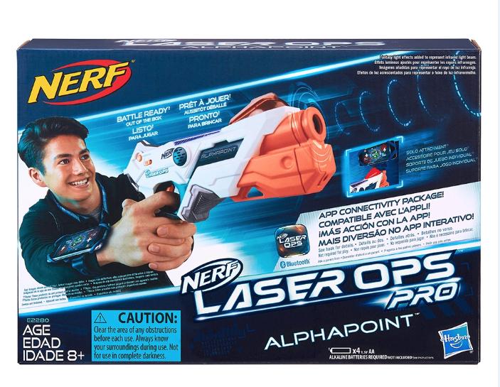 Nerf Laser gun £9.99 each / 2 for £15.99 @ Quality save Barnsley