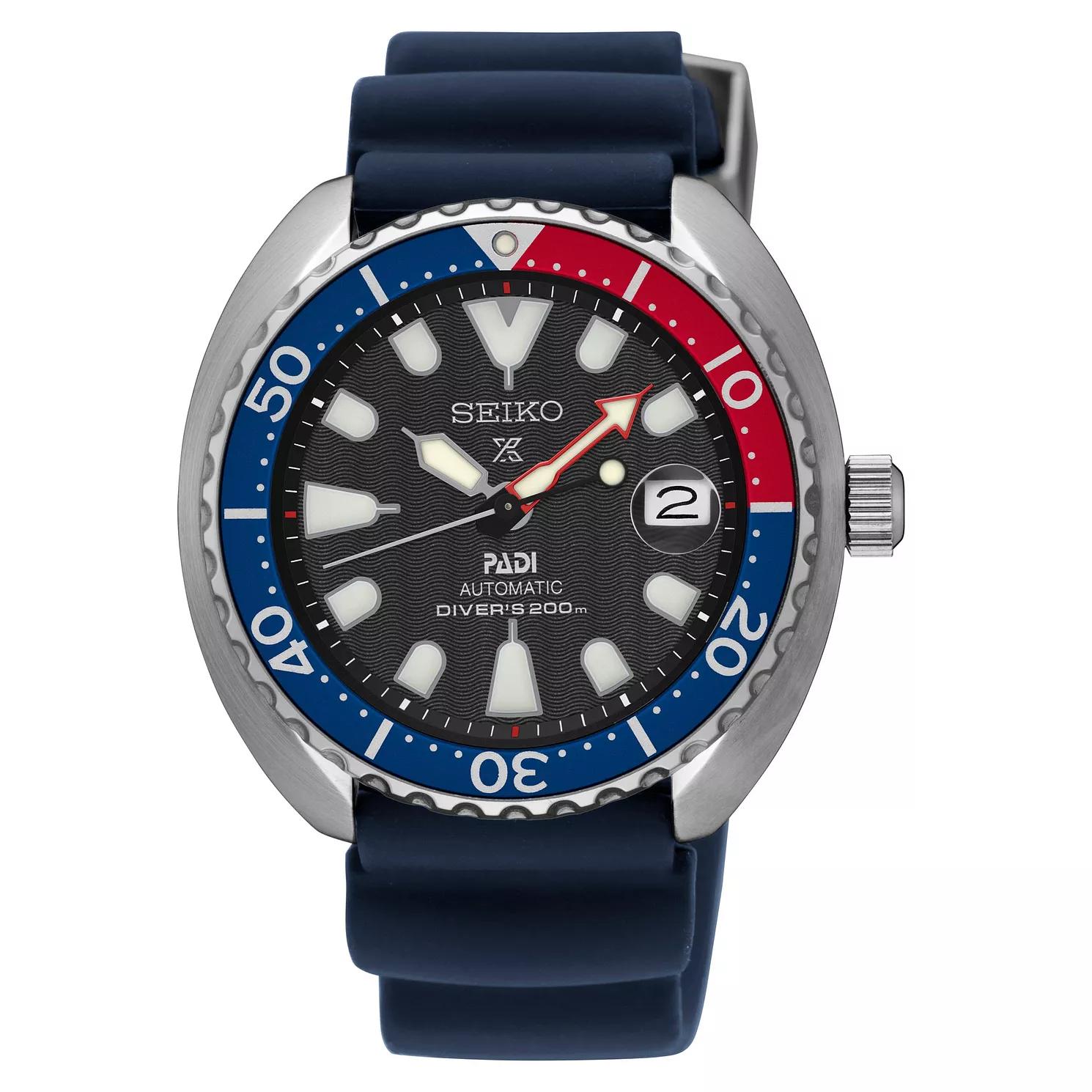 Seiko Prospex PADI Men's Blue Silicone Strap Watch SRPC41K1 - £259 @ Ernest Jones