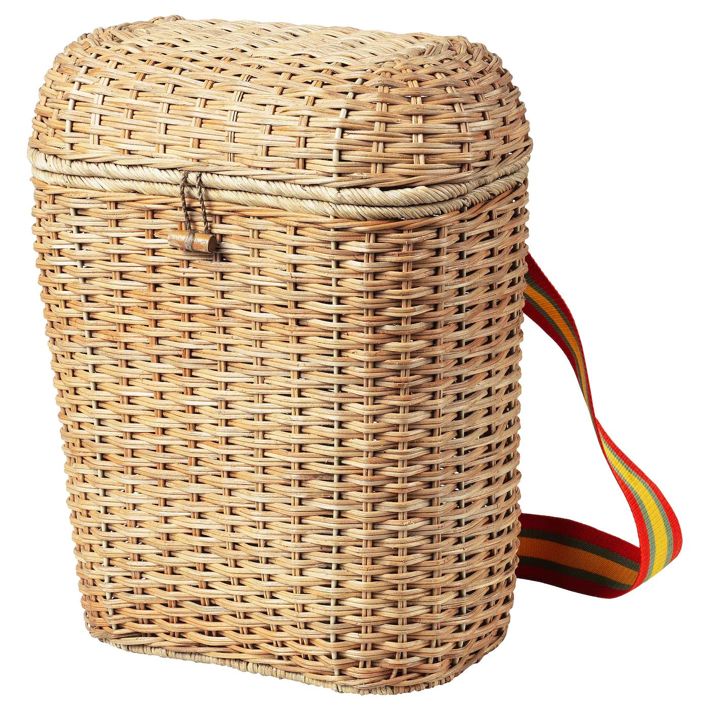 SOLBLEKT Rattan Backpack 20L - £20 @ IKEA family price in-store / online