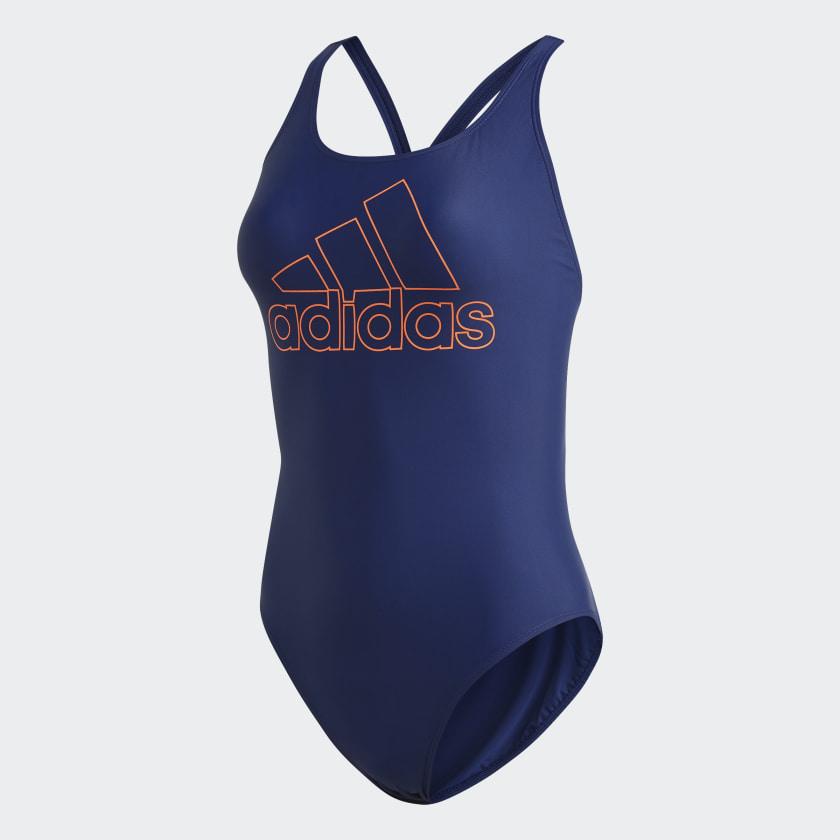 adidas Athly V Logo Swimsuit Tech Indigo OR Orange, £13.11 delivered, using code @ adidas