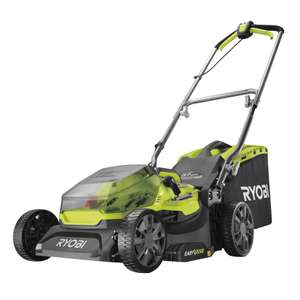 Ryobi ONE+ RY18LMX37A-140 18v Brushless Cordless Lawnmower + 4ah battery and charger £209.30 at Homebase - free Store pickup / £6 delivery