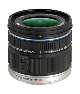 Olympus M.Zuiko Digital ED 9-18 mm F4.0-5.6 Lens (MFT Lens) £294.97 @ Amazon UK