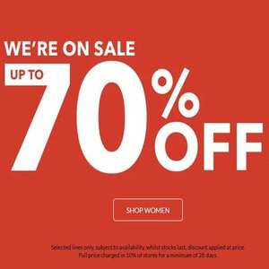 ASDA GEORGE SALE (women sale) up to 70% off - free Click & Collect / £2.95 delivery free over £30