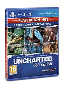 Uncharted Collection PlayStation Hits (PS4) for £10.85 Delivered @ BASE