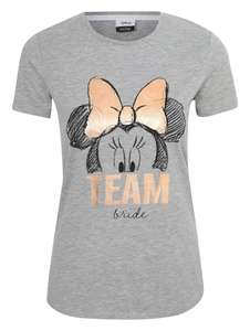 Disney Minnie Mouse Foil Team Bride Slogan T-Shirt £4 @ George - free c&c / £2.95 delivery