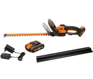WORX WG261E.1 18V (20V MAX) Cordless hedge trimmer with x2 Li-ion batteries and charger - £79.99 at ebay / positecworx