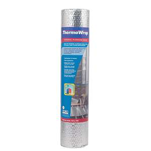 Thermawrap General Purpose Foil Wrap Insulation 1000mm x 7m x 3.70 mm - £17.50 Per Roll Using Click & Collect @ Wickes