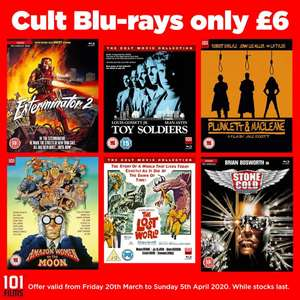 101 Films Sale - Blu rays from £6 + Free delivery