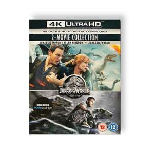 4K Jurassic World 2 movie Collection Blu-ray Discs - £8.05 delivered with code @ PRC Direct.