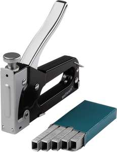 Wolfcraft Tacker Set Tacocraft Type 053 Stapler with 1000 Staples - £9.88 (Prime) / £14.37 (Non Prime) delivered @ Amazon