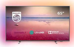 Philips 65PUS6754/12 65-Inch 4K UHD Smart TV with Ambilight, HDR 10+, Dolby Vision, Dolby Atmos - (2019/2020 Model) - £549 @ Amazon