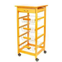 Kitchen Trolley with Ceramic Tile Top- £17.99 with code + Free Click & Collect @ Robert Dyas