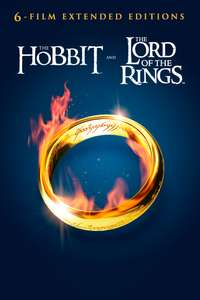 Middle Earth Extended Editions 6 Film Collection (HD) Lord of the Rings & The Hobbit - £29.99 @ iTunes Store