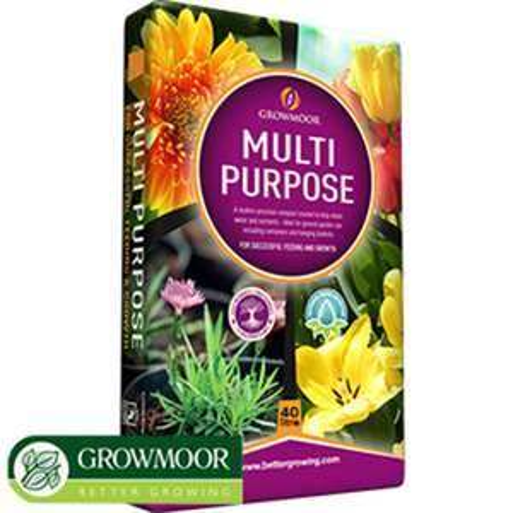 Growmoor: Multi Purpose Compost 40 Litre Bag - £1.99 @ Home Bargains (Halifax)