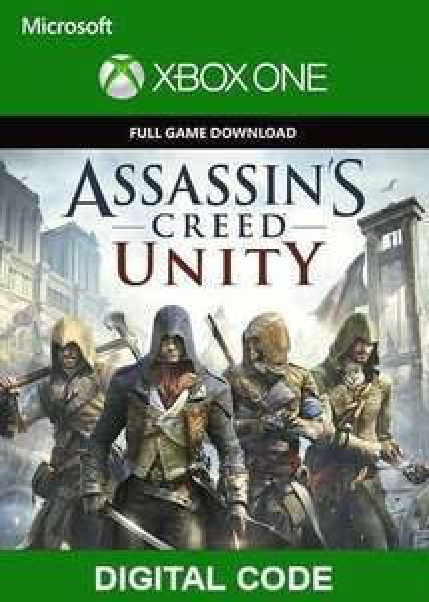 Assassins Creed Unity - Xbox One - £1.32 @ Eneba / Gcdkey