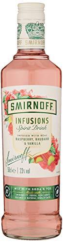 Smirnoff Infusions Raspberry Rhubarb and Vanilla 50cl £11 @ Amazon (+£4.49 Non-prime)