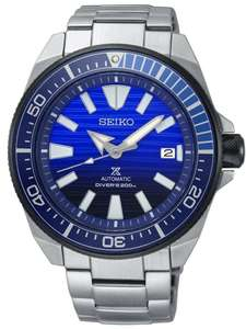 Seiko Mens Prospex Save The Ocean Special Edition Automatic Blue Bracelet Watch SRPC93K1 £316.01 w/code @ House of Watches