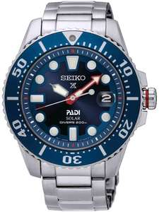SeikoMens Prospex Divers PADI Special Edition Solar Blue Bracelet Watch SNE435P1 £266.40 @ House of Watches
