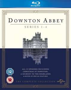 Downton Abbey Series 1-4 Blu-ray (used) - £5.95 delivered @ Cex