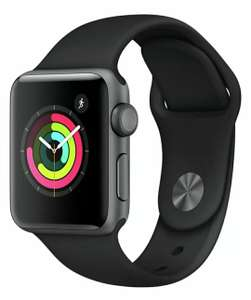 Refurbished Apple Watch S3 8GB GPS 38mm Water Resistant - Space Grey Alu / Black Sport Band - £149.99 @ Argos / Ebay