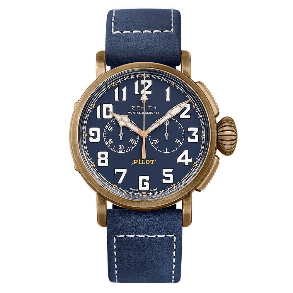 Zenith Pilot Type 20 Extra Special Bronze Automatic Chronograph £4800 @ Beaverbrooks