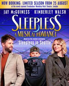 Sleepless the musical free tickets for NHS staff (up to 4 tickets per staff)
