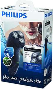 Philips AquaTouch Wet & Dry Men's Electric Shaver with Pop-Up Trimmer AT899 (UK 2-Pin Bathroom Plug) £25 @ Amazon
