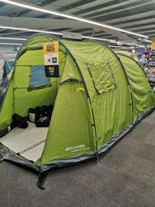 Eurohike Sendero 4 and fleece carpet £79.99 @ Go Outdoors (instore and online)