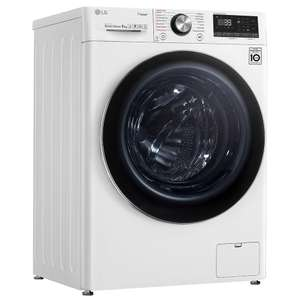 LG F4V909WTS 9kg Steam+ Washing Machine With TurboWash 360 + 5 Year Warranty £599 with code (£474 after cashback) @ Appliance City